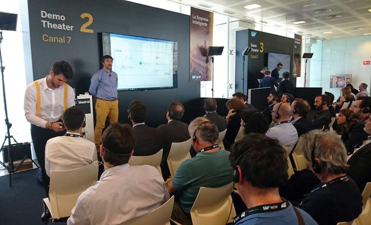 i3s acude y patrocina la edición 2018 de SAP Now Madrid