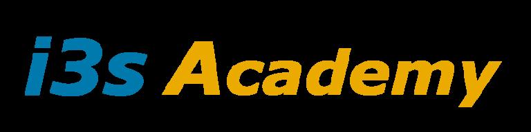 Logotipo de i3s academy (sin fondo)