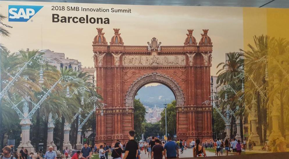 SMB Summit 2018 organizado por SAP en Barcelona